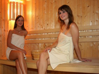 fínska sauna horský hotel remata