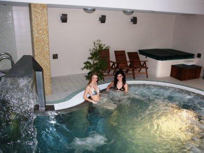 vnútorný bazén horský hotel remata