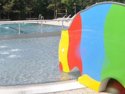 detský vonkajší bazén horský hotel remata