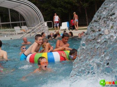 vonkajší bazén  wellness hotel Remata