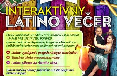 Interaktívny latino večer